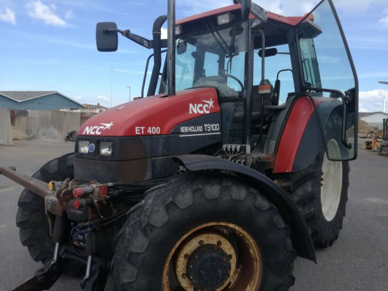 NEW HOLLAND TS 100 4 WD Traktor / Tractor - 2