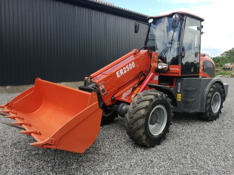 EVERUN ER2500 wheel loader with telescopic arm / Hjullæsser - 0