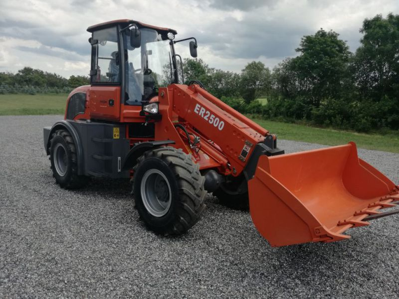 EVERUN ER2500 wheel loader with telescopic arm / Hjullæsser - 2