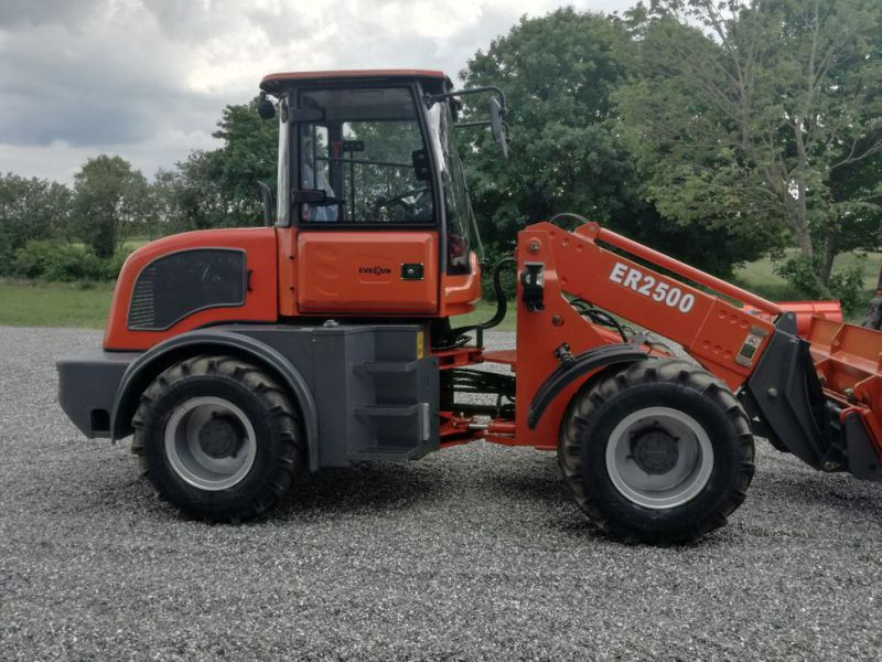 EVERUN ER2500 wheel loader with telescopic arm / Hjullæsser - 3