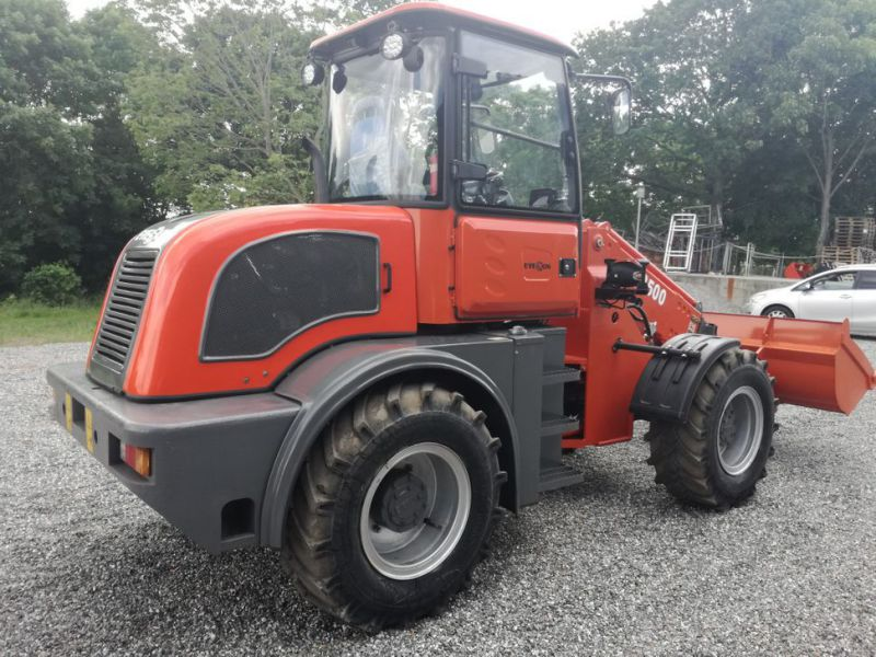 EVERUN ER2500 wheel loader with telescopic arm / Hjullæsser - 4