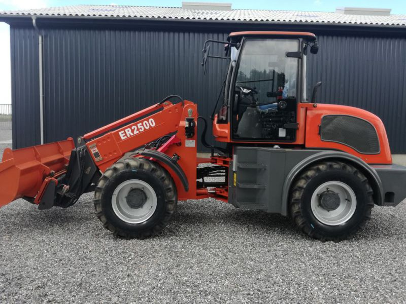 EVERUN ER2500 wheel loader with telescopic arm / Hjullæsser - 6