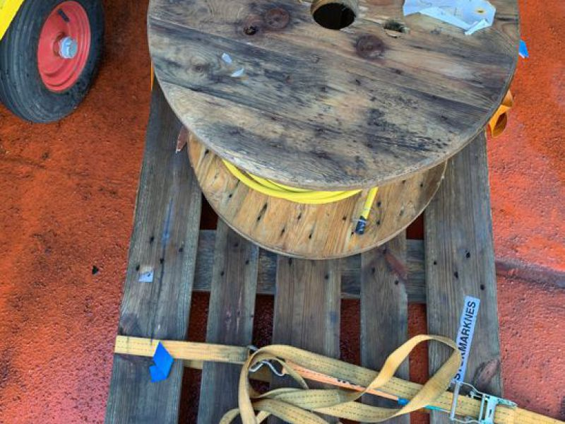 2 stk kabeltromler / Cable drums  2 pcs  - 5