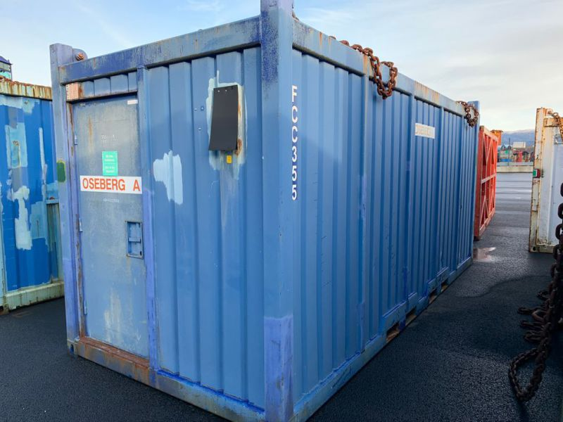 Container med trykktestbenk Proserv / Container with test bench  - 0