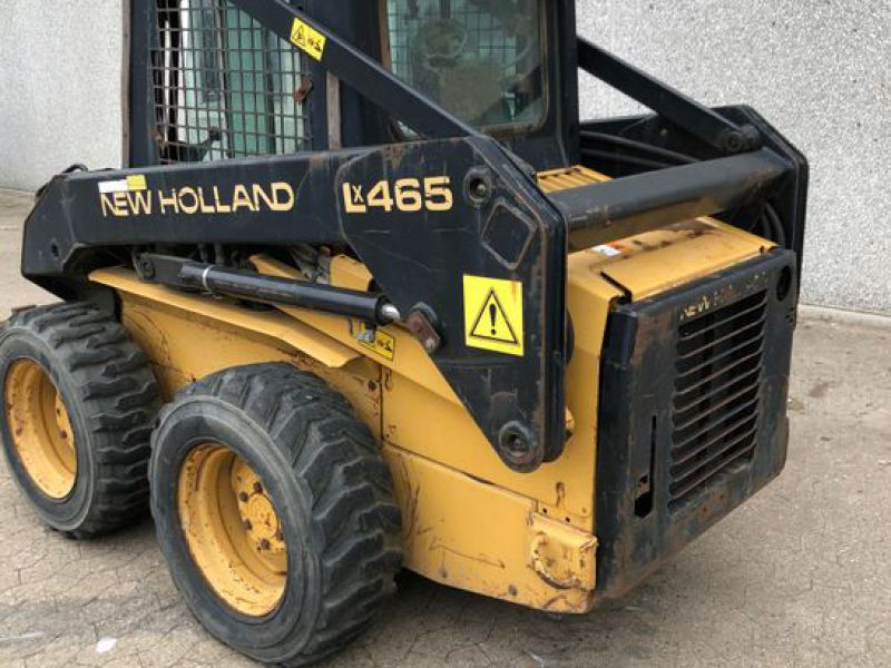 New Holland LX465 Minilæsser / skid-steer loader   - 4