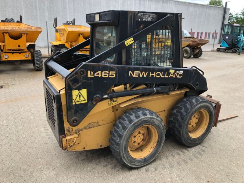 New Holland LX465 Minilæsser / skid-steer loader   - 5