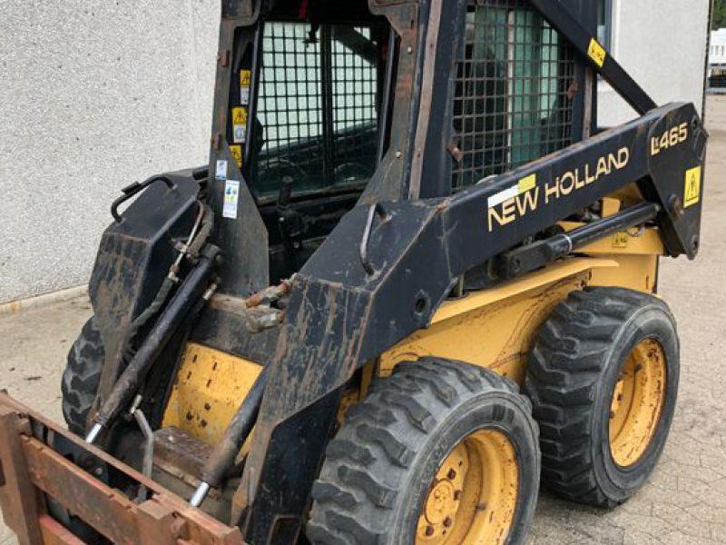 New Holland LX465 Minilæsser / skid-steer loader   - 14
