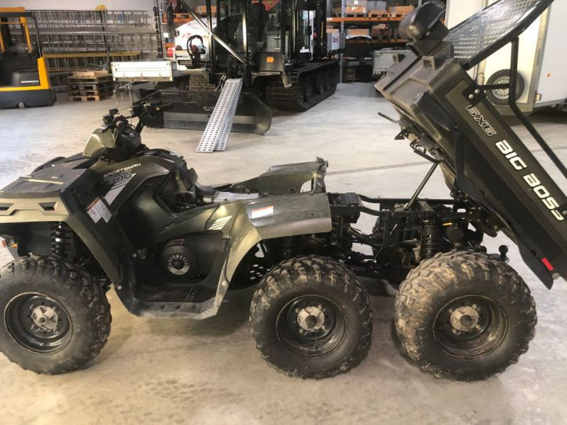 Polaris Sportsman 800 6x6, 2013-mod. Rep.obj. - 4