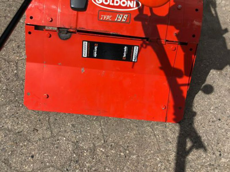 Goldoni Tvist 12S Redskabsbære med fræser / Tool carrier with tiller - 4