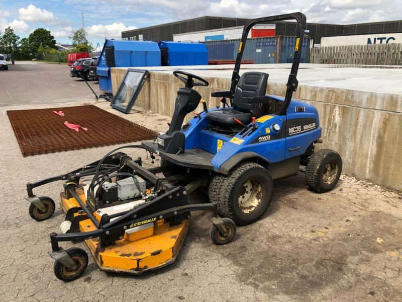 New Holland mc35 4WD Automatic redskabsbærer / Tool Carrier - 0