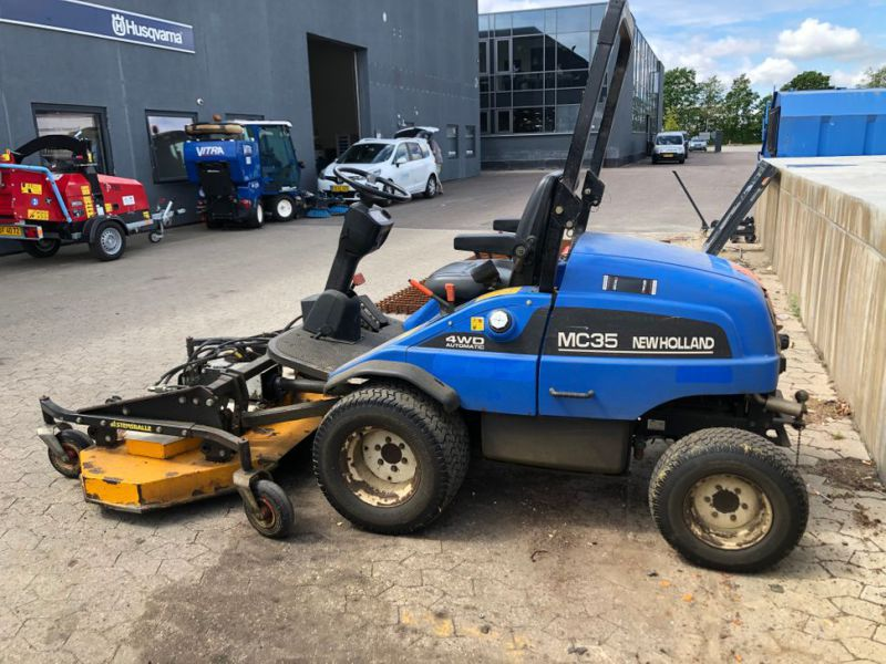 New Holland mc35 4WD Automatic redskabsbærer / Tool Carrier - 3