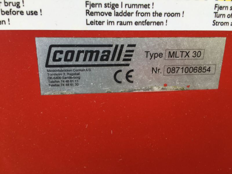Cormall MLTX30 stationær Fuldfoderblander /  Stationary feed mixer - 13