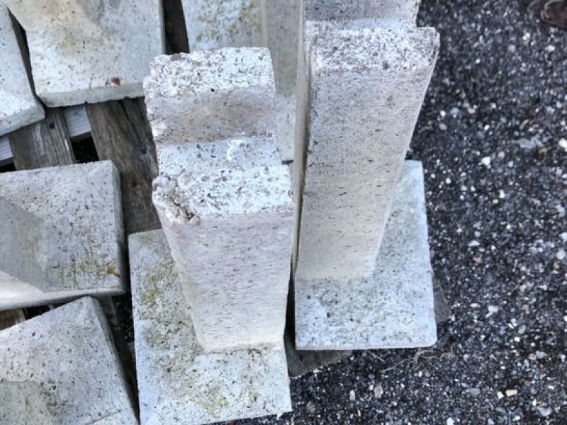Beton støtteben 20 stk (219)  / Concrete support legs 20 units - 3