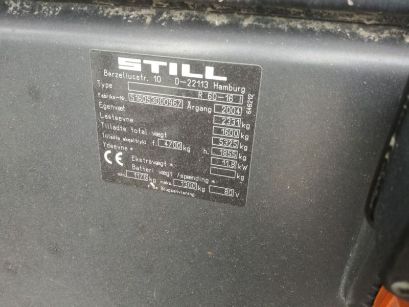 Still R60-16I El Trucks / Forklifts - 12