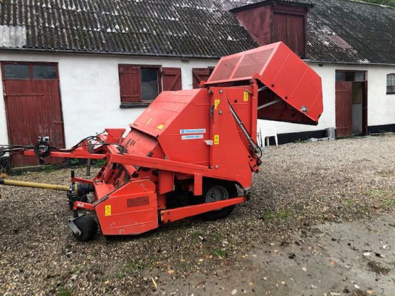 Weidemann Super 400 plænelufter, slagle klippe og kost / Lawn aerator, flail mower and sweeper - 14