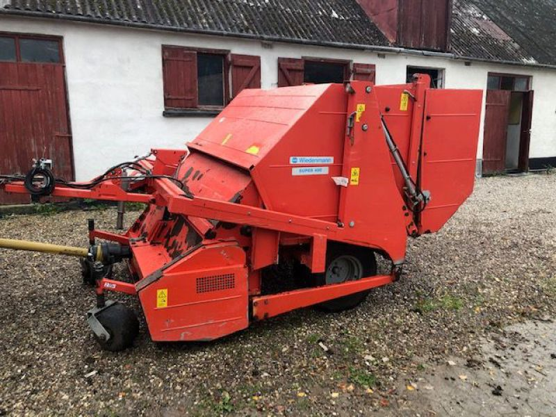 Weidemann Super 400 plænelufter, slagle klippe og kost / Lawn aerator, flail mower and sweeper - 16