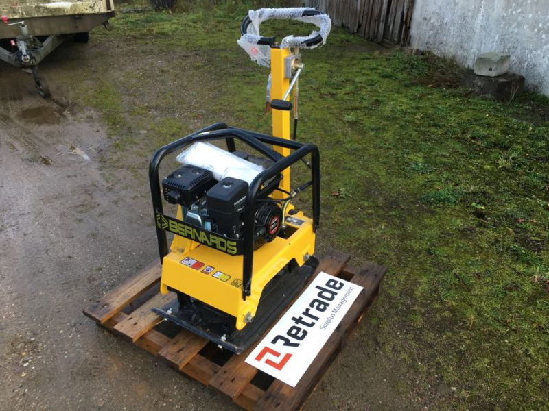 Bernards RT125-2 Pladevibrator NY UNRUGT / Compactor NEW UNUSED - 1