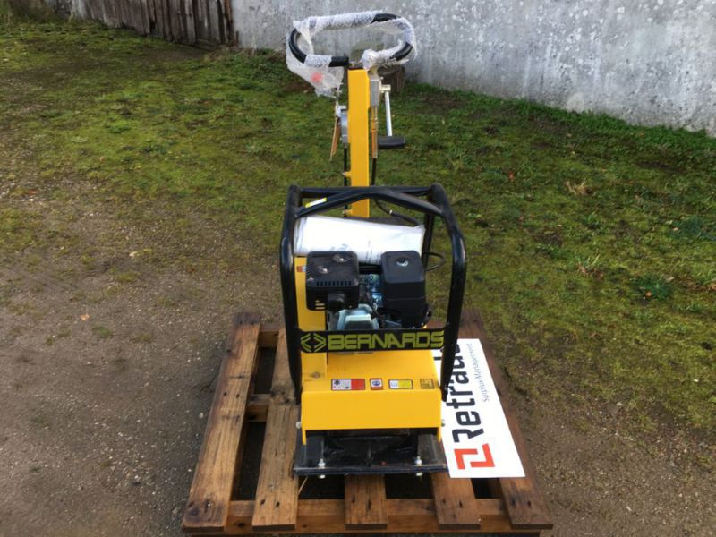 Bernards RT125-2 Pladevibrator NY UNRUGT / Compactor NEW UNUSED - 2
