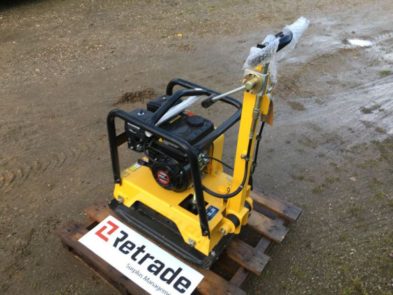 Bernards RT125-2 Pladevibrator NY UNRUGT / Compactor NEW UNUSED - 6