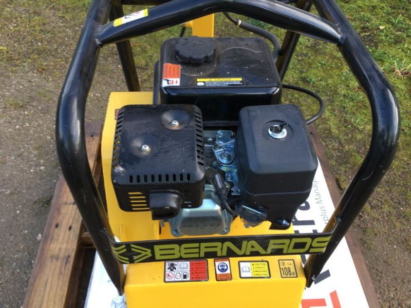 Bernards RT125-2 Pladevibrator NY UNRUGT / Compactor NEW UNUSED - 8