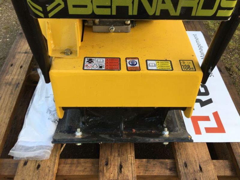 Bernards RT125-2 Pladevibrator NY UNRUGT / Compactor NEW UNUSED - 9
