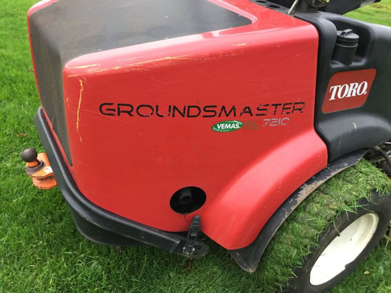 Toro Groundmaster 7210 zeroturn klipper / Mower - 18