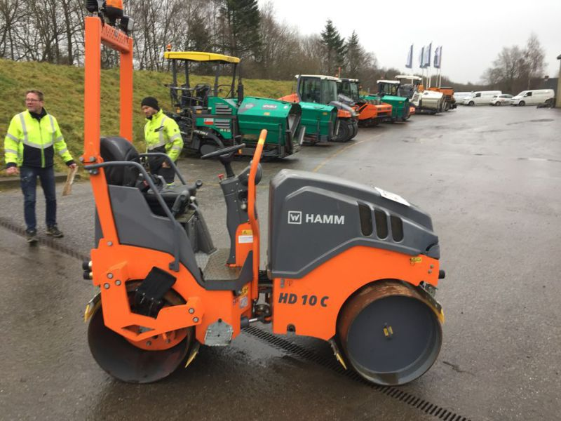 Hamm HD 10C VV Tromle / Articulated Roller - 3