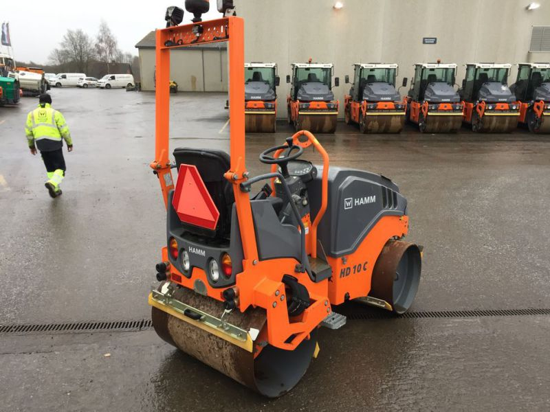 Hamm HD 10C VV Tromle / Articulated Roller - 4