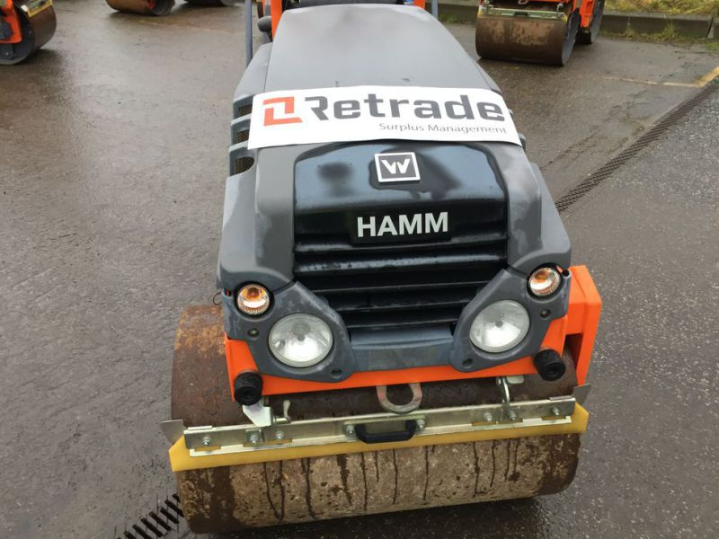 Hamm HD 10C VV Tromle / Articulated Roller - 19