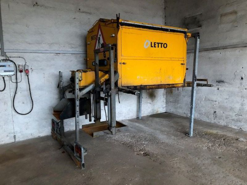 Letto 2,5 tons Asfalt varmekasse / Asphalt heating box - 0