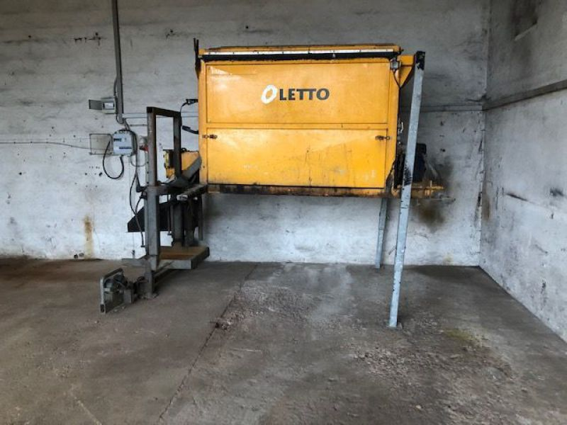 Letto 2,5 tons Asfalt varmekasse / Asphalt heating box - 1