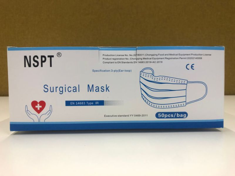 Mundbind 20.000 stk / Surgical face masks 20.000 pcs - 7