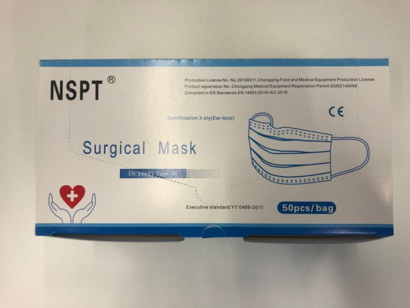 Mundbind 20.000 stk / Surgical face masks 20.000 pcs - 9