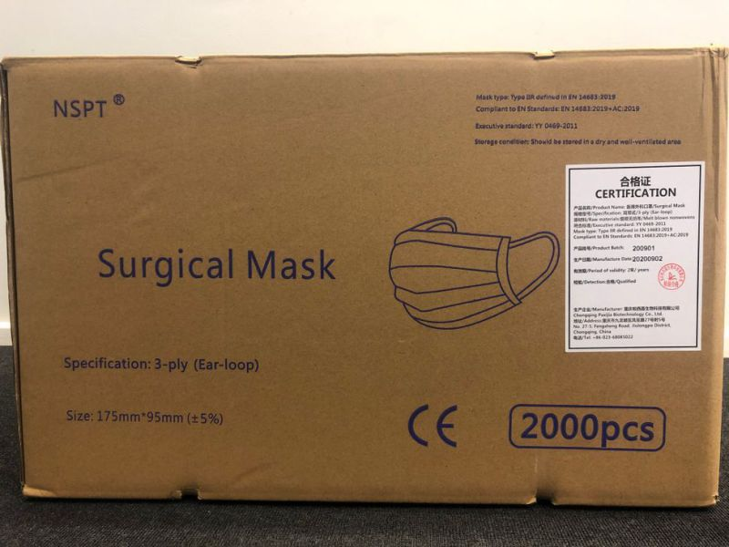 Mundbind 20.000 stk / Surgical face masks 20.000 pcs - 15