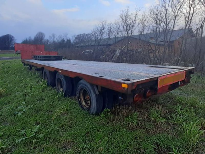 Nopa trailer nedbygget / Low bed trailer - 3