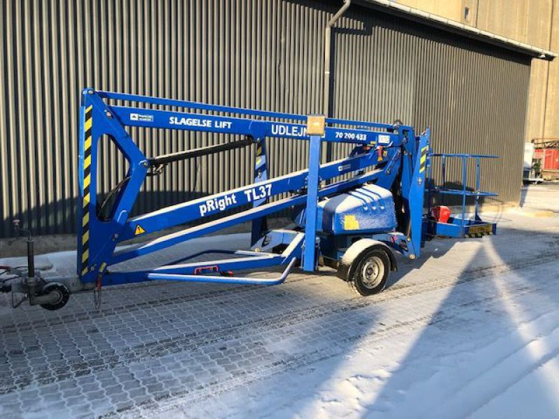 Upright TL37 trailerlift / Trailed boomlift - 0