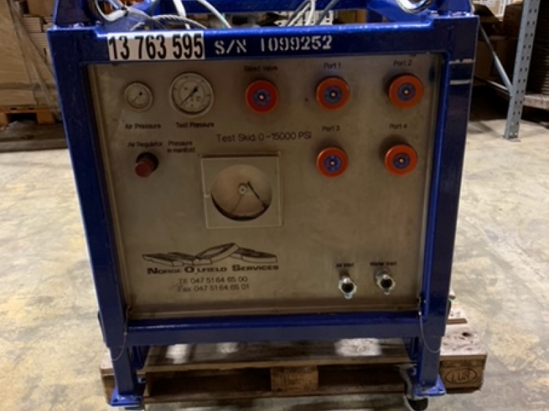 TIW Test Skid - 6