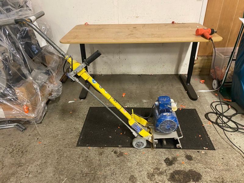 Ytfräs för betong/Surface cutter for concrete - 0