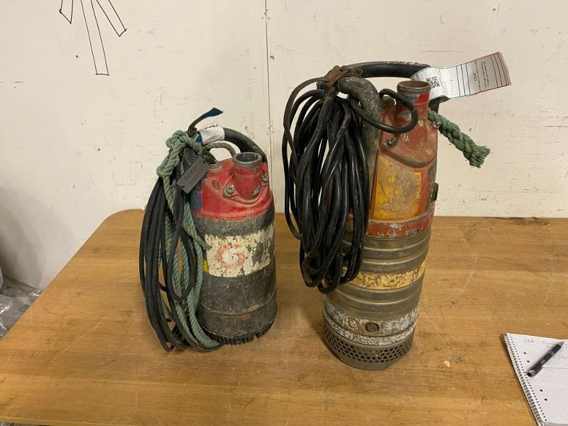 2 Dränkbara pumpar/2 Submersible pumps  - 0