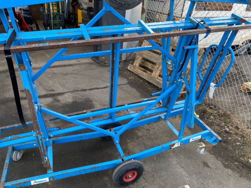 2 Gipsvagnar/2 Plaster trolleys - 4