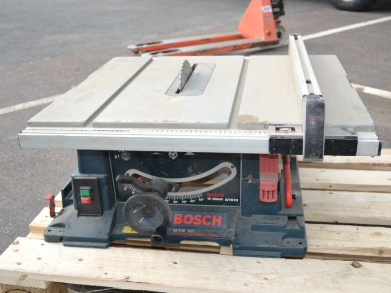 Bosch GTS 10 Klyvsåg / splitting saw / construction saw - 0