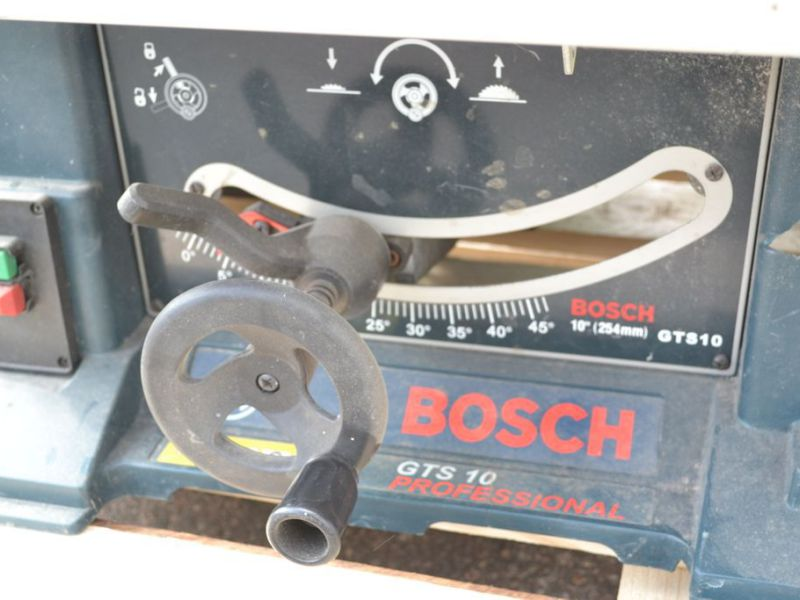 Bosch GTS 10 Klyvsåg / splitting saw / construction saw - 5