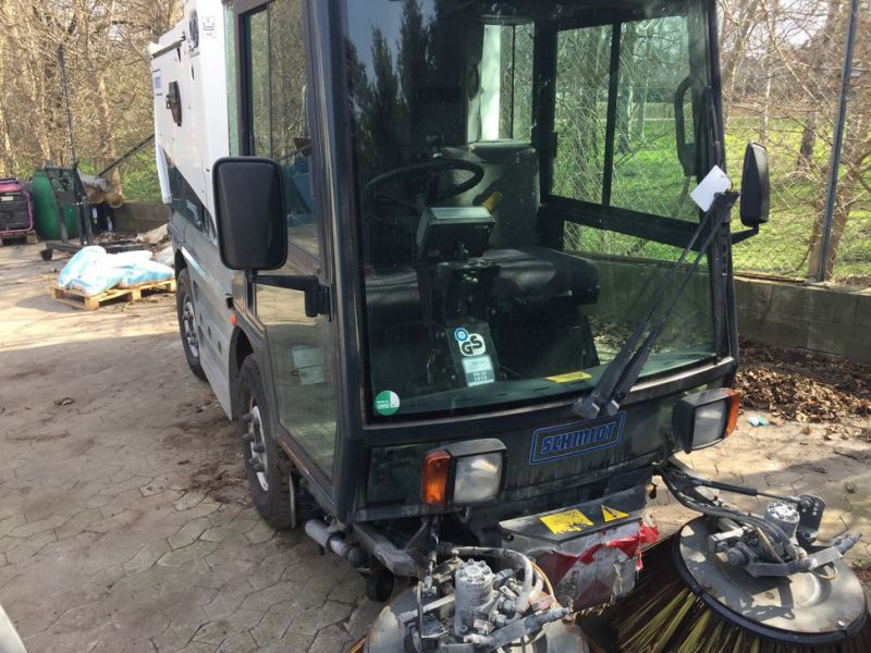SCHMIDT Swingo 150 Feje-sugevogn / Sweeper suction truck - 3