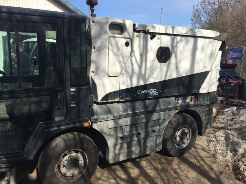 SCHMIDT Swingo 150 Feje-sugevogn / Sweeper suction truck - 26