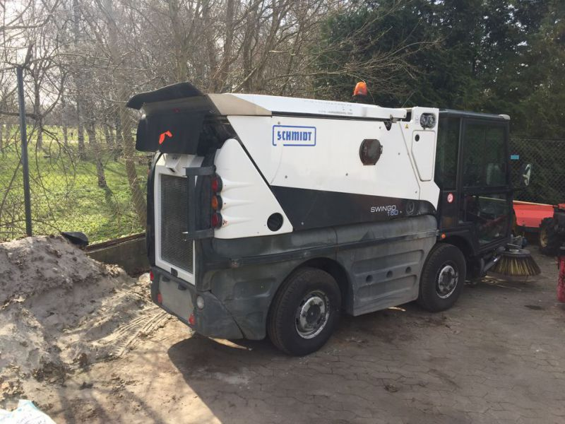 SCHMIDT Swingo 150 Feje-sugevogn / Sweeper suction truck - 28