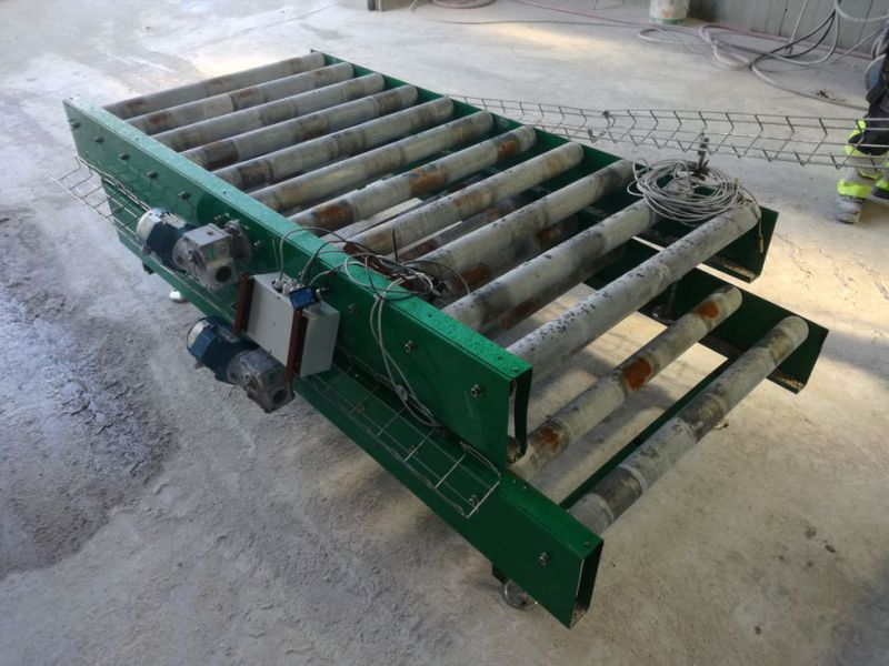 Leng Pallepakker med diverse rullesektioner / Long Pallet packages with various roller sections - 40