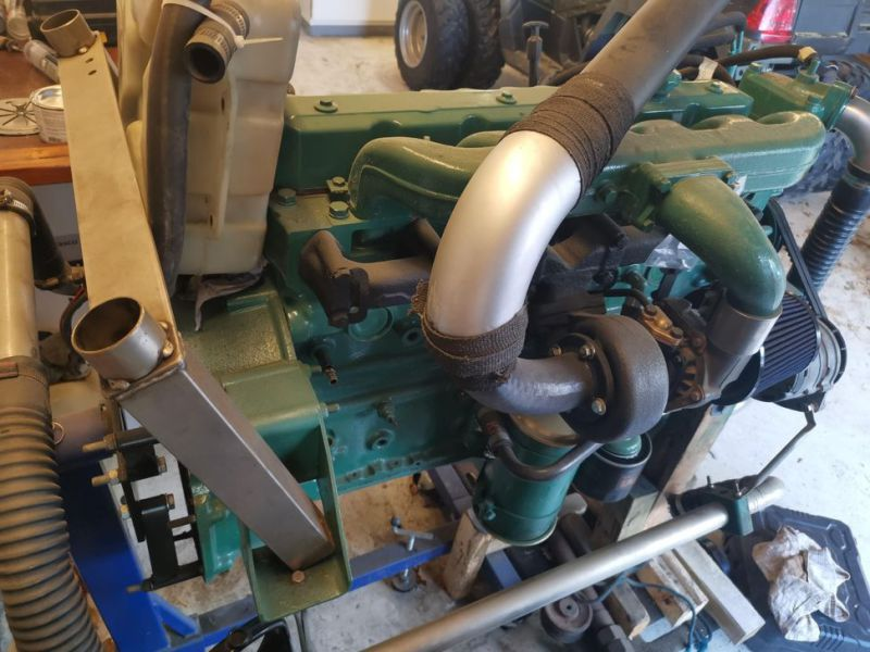 Volvo Penta 6 cylinder TD40A  incl. outdrive - 3