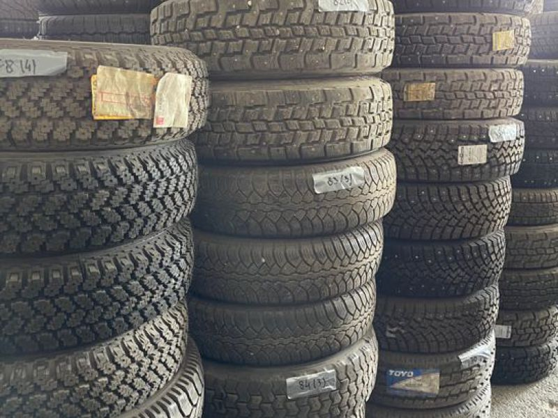 Däckparti / Tire lot 250 ST/250 PCS  - 16