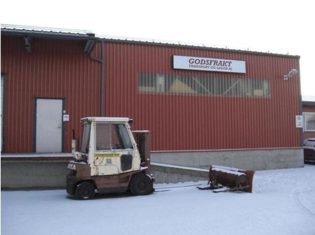 Modernistisk Stålhall ca. 300 m2 til salgs. På Retrade kan du kjøpe brukte KJ-54