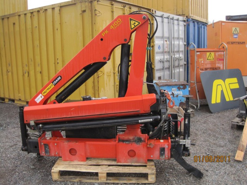Palfinger kran PK 4100 for sale. Retrade offers used machines, vehicles, equipment and surplus ...